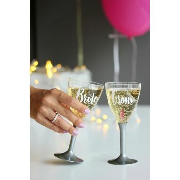 BRIDE-GROOM BASKILI İÇECEK BARDAK TAKIMI