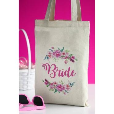 BRIDE BEZ BASKILI ÇANTA