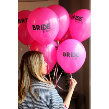 BRIDE TO BE BASKILI FUŞYA BALON