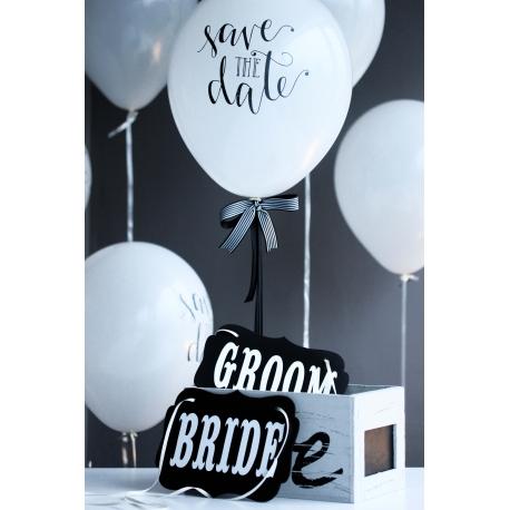 BRIDE-GROOM BASKILI AHŞAP LEVHA TAKIMI
